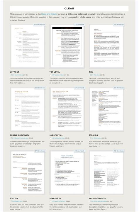 exle resume resume templates muse