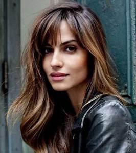 Frange Cheveux Long : coupe de cheveux femme 20 id es pour tous les types de ~ Melissatoandfro.com Idées de Décoration