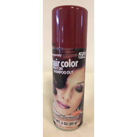 walmart temporary hair color goodmark temporary hair color spray maroon