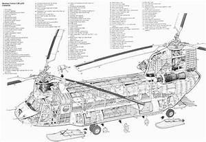 Cutaway  Boeing Vertol Ch