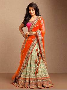 Buy LIGHT GREEN embroidered net unstitched bridal-lehengas