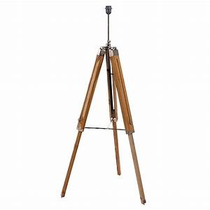 natural wood tripod floor lamp base by quirk With wooden tripod floor lamp the range