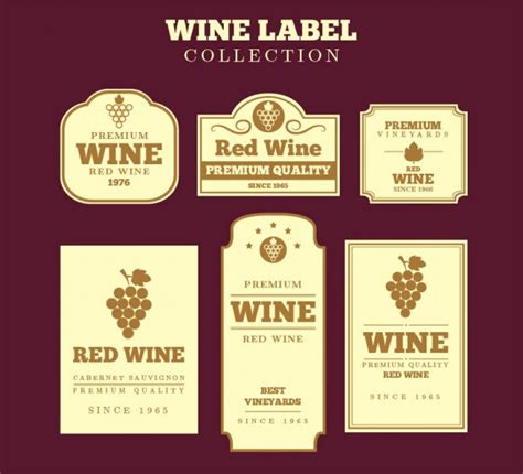 wine label template 53 label design templates design trends premium psd