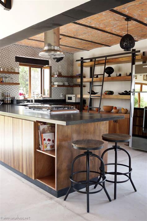 renovacion de cocina estilo rustico industrial disenos de casas muebles de cocina cocina