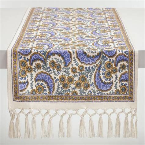 world market table linens lavender french floral delphine table linen collection