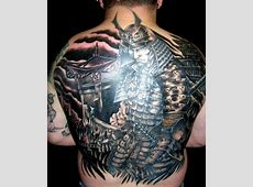 35+ Samurai Back Tattoos