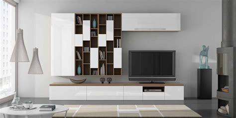 salones  muebles lacados en blanco  madera villalba