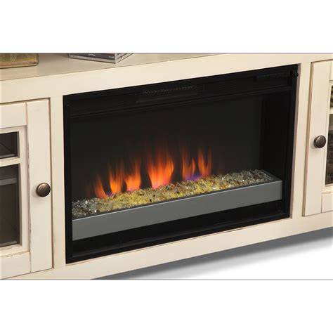 white fireplace tv stand merrick 74 quot fireplace tv stand with contemporary insert
