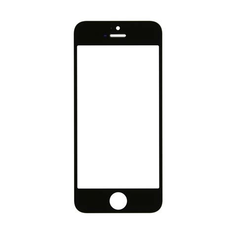 iphone  glass lens screen replacement black