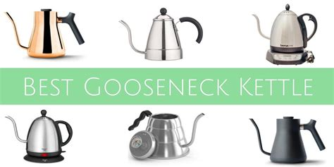 kettle gooseneck pour coffee electric looking