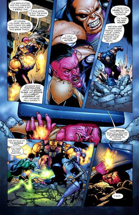 mongul vs sinestro - Battles - Comic Vine