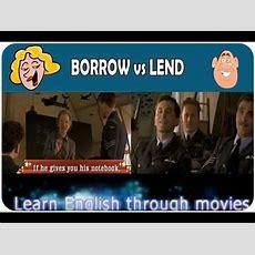 Borrow Vs Lend Youtube