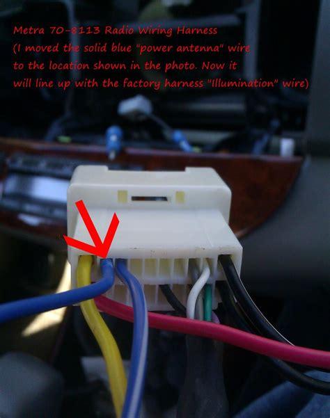 Aftermarket Radio Install Tip Gen Camry