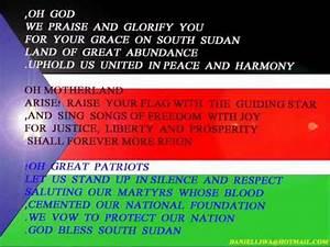 South Sudan National Anthem Wmv