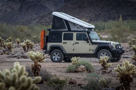 jeep pop up tent trailer pop up car tents these 15 rooftop cers are like
