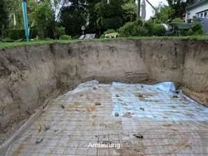 Einbau Pool Selber Bauen : gfk schwimmbecken fertigschwimmbecken pooleinbau bauarbeiten youtube ~ Sanjose-hotels-ca.com Haus und Dekorationen