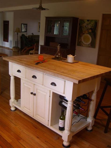 movable butcher block kitchen island amish made large country kitchen island 7044