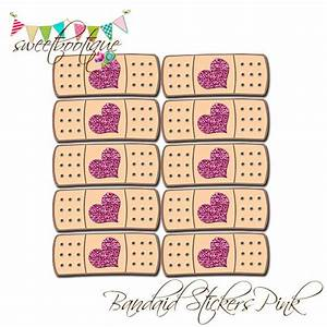 Doc McStuffins Style Bandaid Stickers - Birthday Party or ...