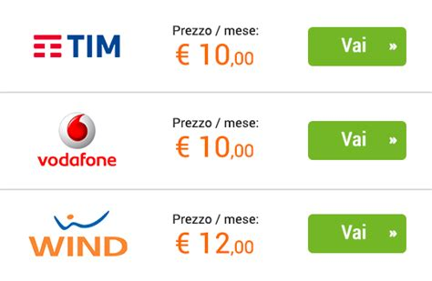 Migliore Offerta Mobile Ricaricabile by Offerte Smartphone Sim Scegli La Migliore Offerta