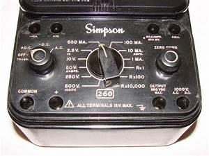 Simpson 260 Series 7    Volt - Ohm