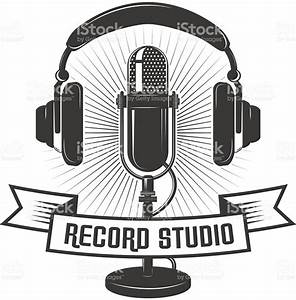 Microphone clipart recording studio - Pencil and in color ...