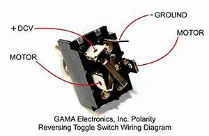 Gama Electronics 30 Amp Toggle Switch 3 Position Polarity