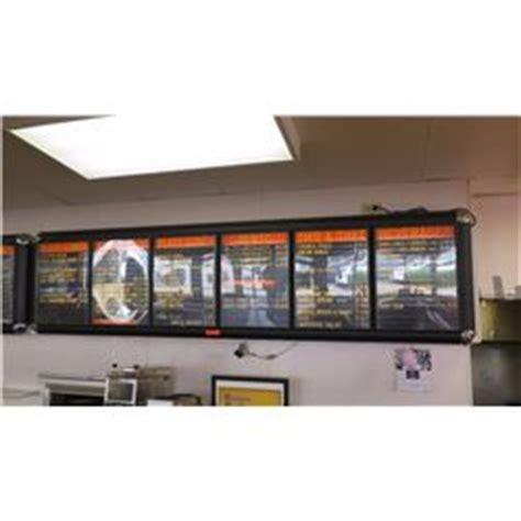 wall light up menu boards display system 6 panel