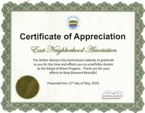 volunteer certificate of appreciation templates zaxa tk