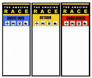 Amazing race logo printable bing images for The amazing race clue template