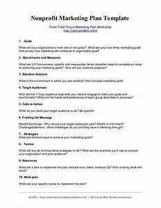nonprofit marketing plan template summary by kivi leroux With apartment marketing plan template