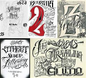 the bj betts lettering combo 5 pack tattoo education With lettering books alphabets