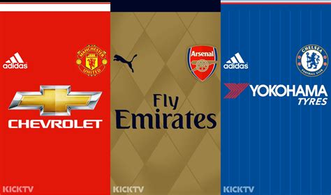 Premier League 15-16 Kit Mobile Wallpapers - Footy Headlines