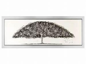 Tableau Metal En Relief : toile peinte main et en relief 63x163 cm arbre vente de toile et image encadr e conforama ~ Teatrodelosmanantiales.com Idées de Décoration