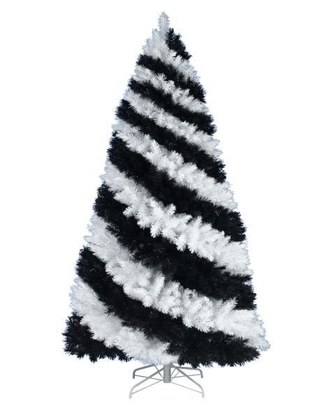 zebra striped christmas tree treetopia