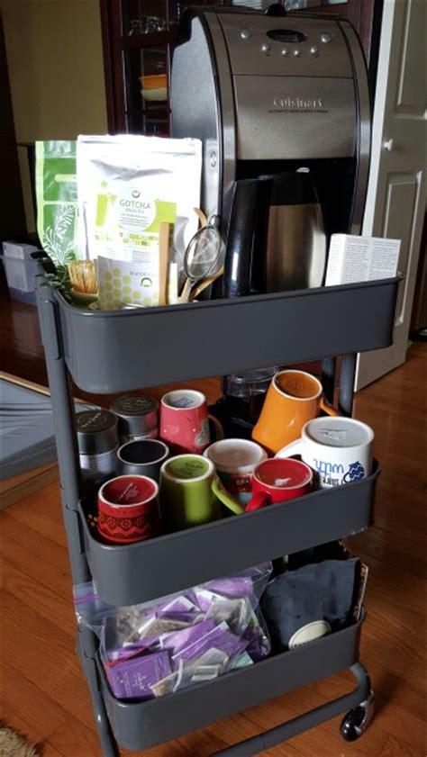 smart ways   ikea raskog cart  home storage digsdigs