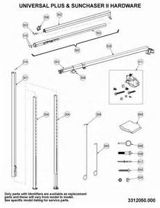 dometic 9100 power awning parts diagram oasis door awning