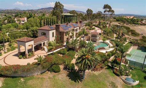 square foot mansion  rancho santa fe california homes   rich