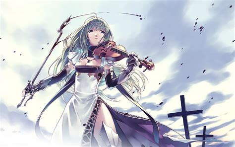Violin Wallpaper Anime - cross blood violins anime wallpaper 1680x1050