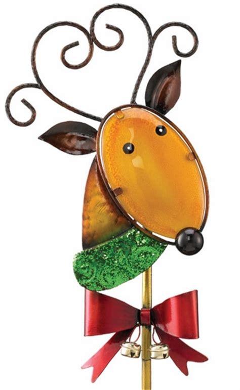 solar reindeer garden stake only 23 99 at garden fun