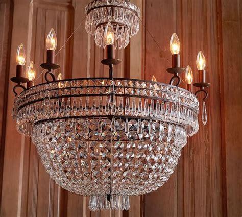 pottery barn chandelier ella chandelier pottery barn