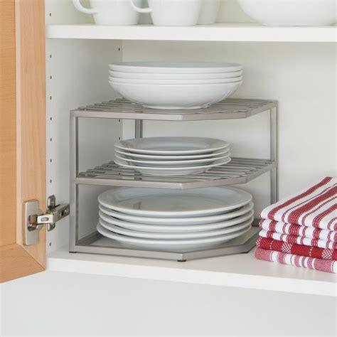 kitchen cabinet dish organizers pinterest