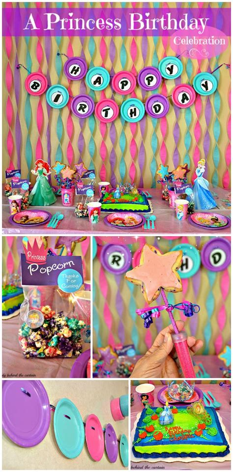 Disney Princess Birthday Party Ideas And Crafts