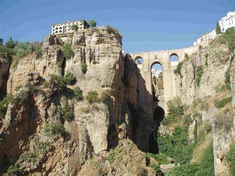 spain ronda andalusia pronunciation andalucia places spanish malaga side malaga sea property most buildings mediterranean bridges community espana andalucia cliff