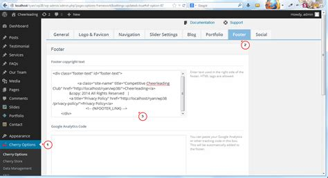 Change Text In Paraboot Template by How To Edit Footer Copyright Message Template