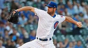 Cubs pitcher Cole Hamels requests David Montgomery patch ...
