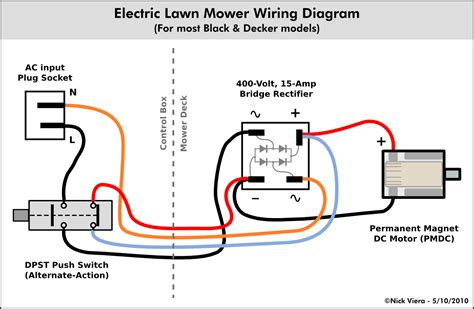 nick viera electric lawn mower wiring information 120V Electrical Switch Wiring Diagrams