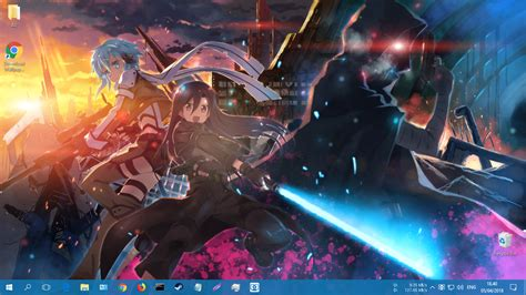 Anime Wallpaper Engine - sao ggo wallpaper engine anime