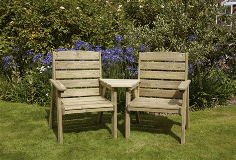 Garden Furniture Chairs by Anchor Fast Dawlish Companion Bench Simply Wood