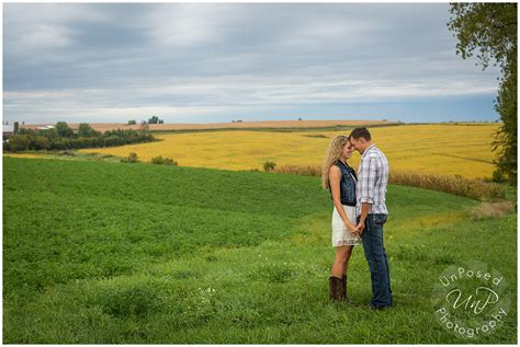 wisconsin farm engagement session