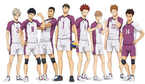 Characters from, or related to, karasuno high school. Shiratorizawa Academy   Haikyuu!! Wiki   FANDOM powered by Wikia